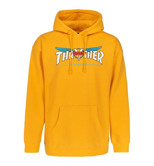 Thrasher Hoodie Venture Collab golb