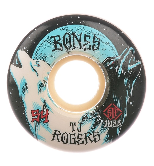 Bones Rolle STF Roger Wohl 103A V3 Slim 54mm