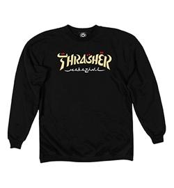 Thrasher Sweater Calligraphy