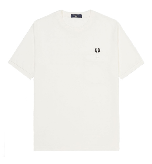 Fred Perry Shirt Pocket Detail Pique