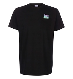 RipNDip Shirt Rainbow Nerm Pocket Tee