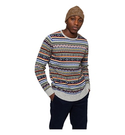 Revolution Sweater 6533 Striped Knit