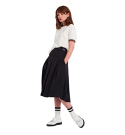 Fred Perry Rock Pleated Trikot Skirt