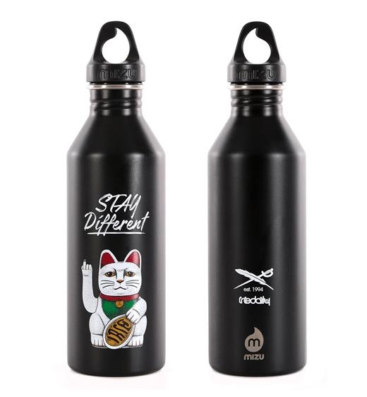 Iriedaily Flasche Bye Bye Cat Bottle