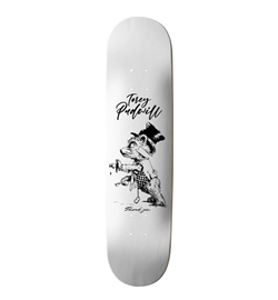 Thank You Skateboard Deck Pudwill Tipsy Bear 8.50""