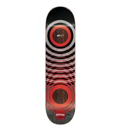 "Almost Skateboard Deck Amrani Red Rings 8.25"""