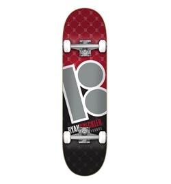 """Plan B Skateboard Komplett Sheckler Corner 8.0"""""""