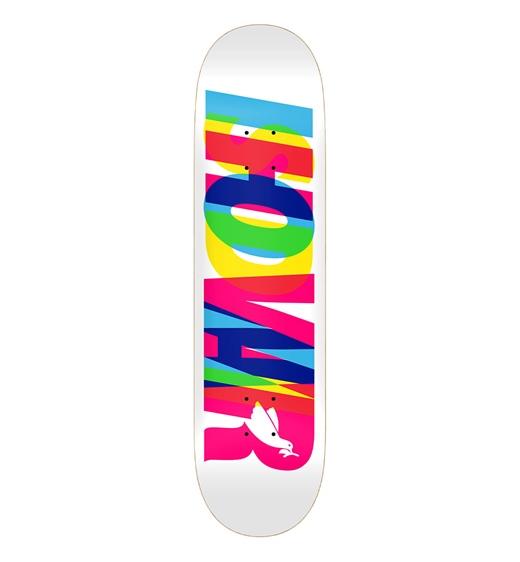 "Real Skateboards Deck Wair Eclipsing 21 8.50"""