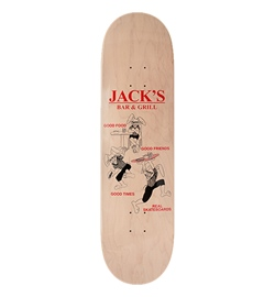 Real Skateboards Deck Olson Jack Good Times 8.38""