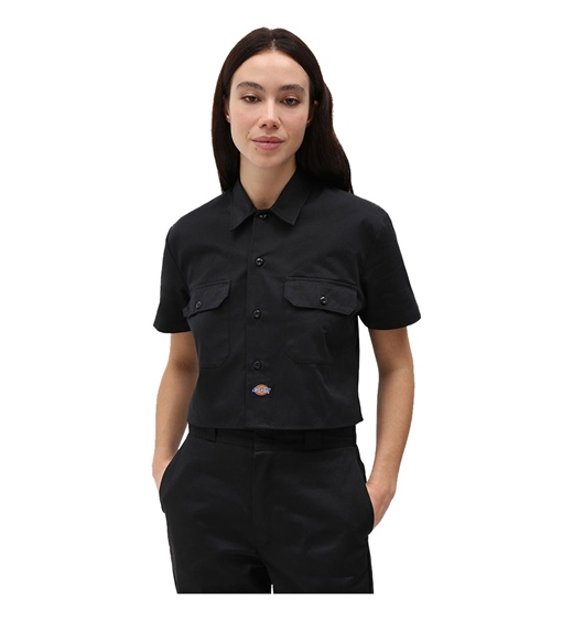 Dickies Girls Hemd Cropped Work Shirt