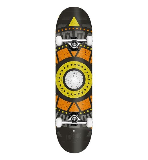 "Inpeddo Skateboard Komplett Apache yellow 8.0"""