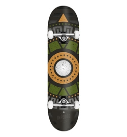 "Inpeddo Skateboard Komplett Apache olive 8.125"""