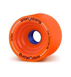 Orangatang Rolle In Heat 75mm 80a orange