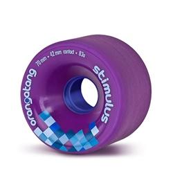 Orangatang Rolle Stimulus 70mm 83a purple