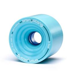Orangatang Rolle In Heat 75mm 77a blue