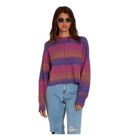 Volcom Girls Sweater Neon Signs