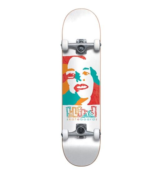 """Blind Skateboard Komplett Full Psychedelic Girl 7.75"""""""