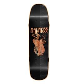 "Madness Skateboard Deck Back Hand R7 8.5"""
