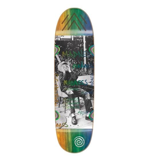 """Madness Skateboard Deck Column R7 9"""""""