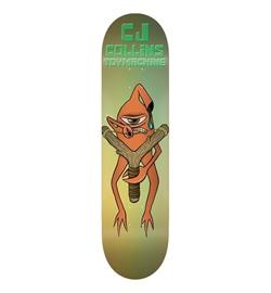 """Toy Machine Skateboard Deck Collins Slingshot 8.38"""""""