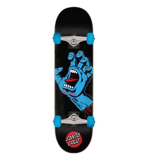 "Santa Cruz Skateboard Komplett Screaming Hand Full 8"""