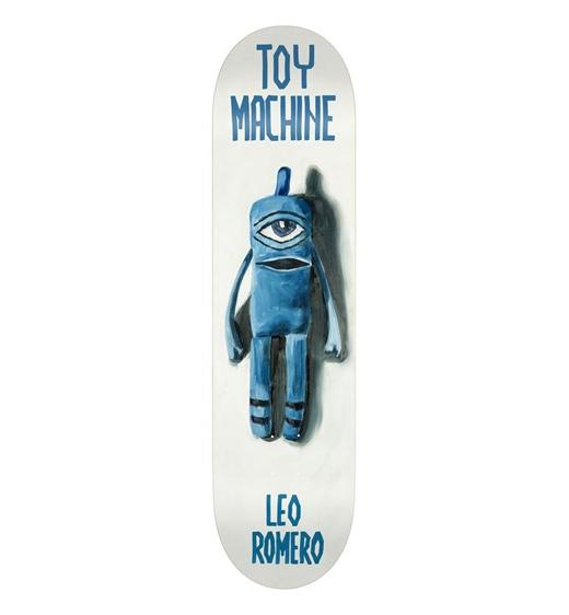 "Toy Machine Deck Doll Series Romero 7.88"""