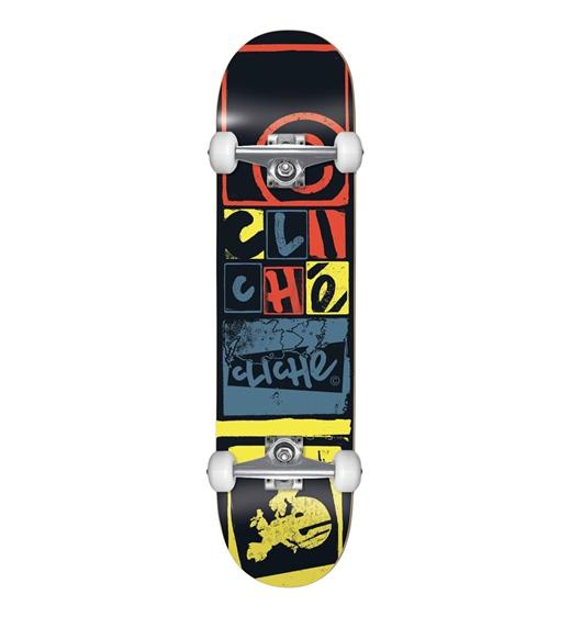 "Cliché Skateboard Komplett Letter Press 8.00"""