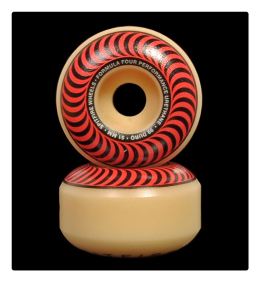 Spitfire Rolle F4 Classsic Red 51mm 99A