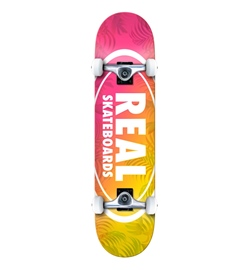 "Real Skateboards Skateboard Komplett Island Ov. SM 7.50"""