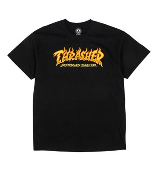 Thrasher Shirt Fire Logo