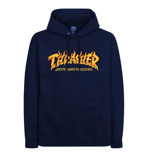 Thrasher Hoodie Fire Logo
