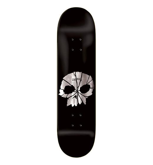 """Zero Skateboards Deck Team Shattered Skull 8.25"""""""