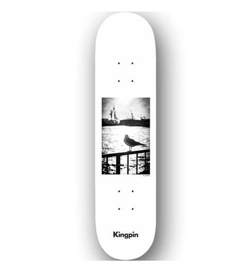 "Kingpin Deck David Luther Seagull 8.25"""