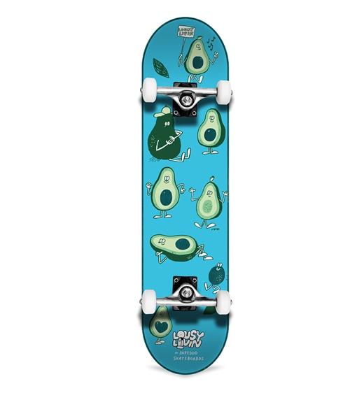 """Inpeddo Skateboard Komplett Avocado 7.5"""""""