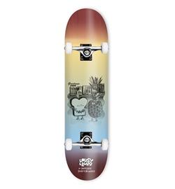 "Inpeddo Skateboard Komplett Toast Hawaii 8.25"""