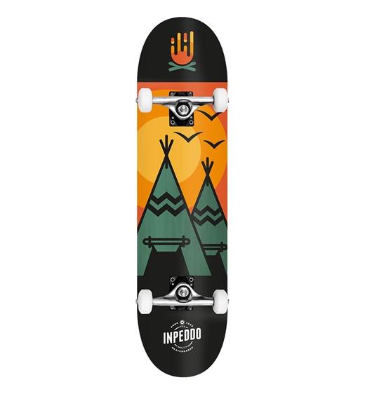 "Inpeddo Skateboard Komplett Wigwam 7.5"""