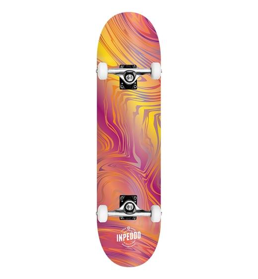 "Inpeddo Skateboard Komplett Blurred 7.75"""