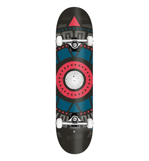 "Inpeddo Skateboard Komplett Apache 7.75"""