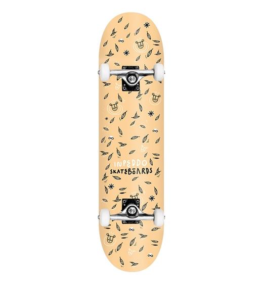 "Inpeddo Skateboard Komplett Leaf 8.125"""