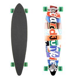 """boardjunkies Longboard """"Markenklau"""""""