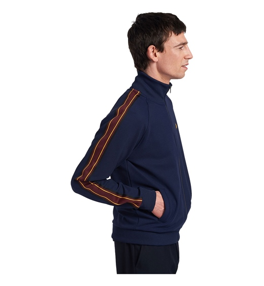 Fred Perry Striped Tape Track Jacket