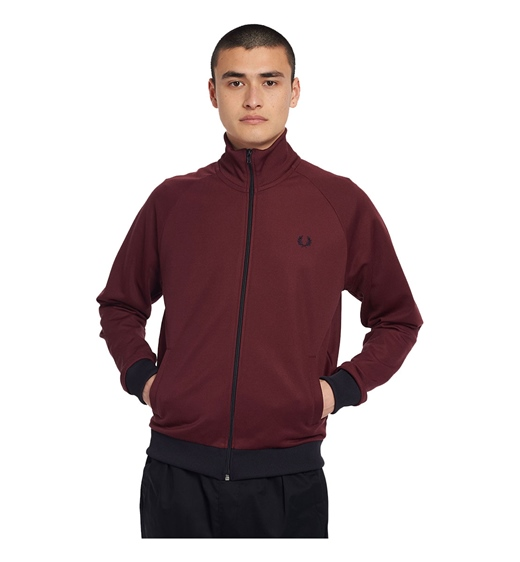 Fred Perry Contrast Trim Track Jacket